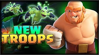 NEW TROOPS in Clash! • LOVING THIS UPDATE!