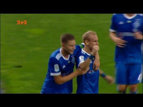 Динамо - Сталь - 3:0. Гол: Вида (41')