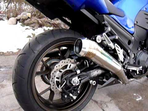 ZX14 TSUKIGI Cannon Exhaust