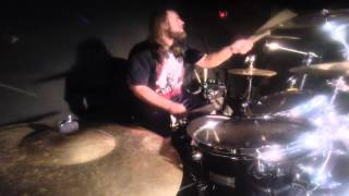 BROKEN FLESH Brandon Lopez - Buried Alive (Drum-Cam)