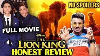 The Lion King Honest Review | No Spoilers | Shahrukh Khan, Aryan Khan DUBBING