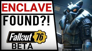 Fallout 76 - I FOUND THE ENCLAVE LOCATION + QUESTS!