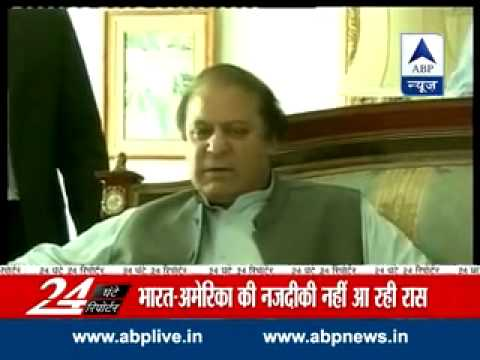Sharif urges Obama to take up Kashmir issue with India