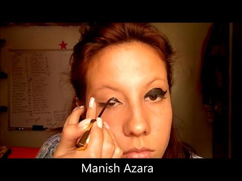Maquillaje de pasarela (Delineador)