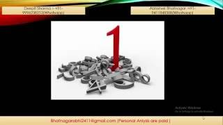 Numerology in Hindi  : Numerology number 1