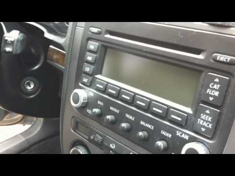 2005.5 VW Jetta - Turn satellite radio into aux input