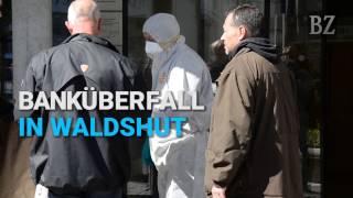 Bankräuber in Waldshut liefert sich Schusswechsel mit der Polizei