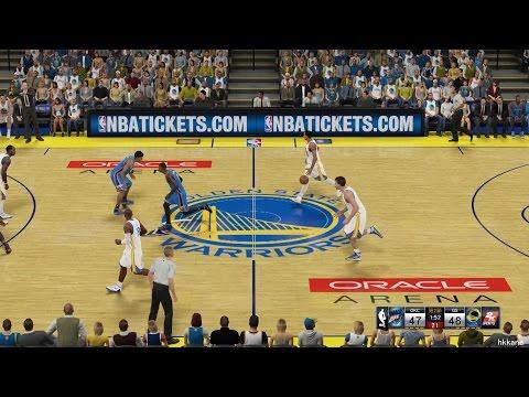 NBA 2K15 Oklahoma City Thunder Vs Golden State Warriors 18-12-2014