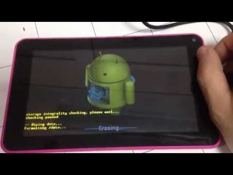 Easy Hard Reset Chinese Tablet's Denver eeeZe Storex & Others without Volume buttons