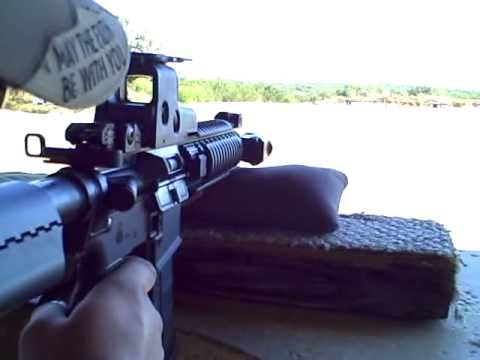 AR 15 M4A1 Clone Shooting