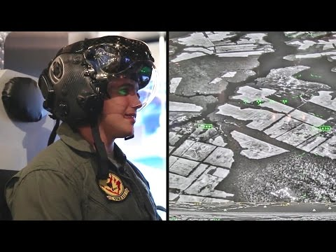 Marines TV - F-35 Stealth Fighter Helmet Mounted Display System & Flight Simulator [1080p]