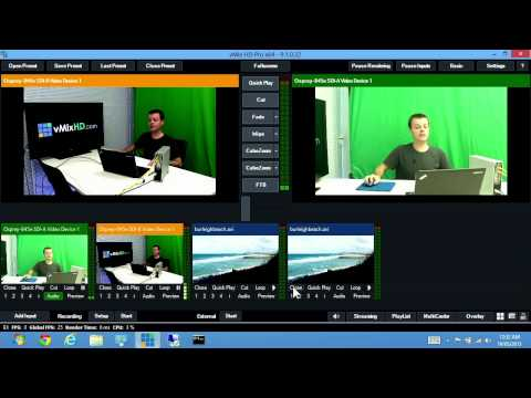 vMix - Live Production Software - In Depth Demonstration