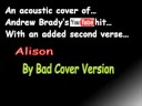 Alison - Andy Brady cover - by Bad Cover Version