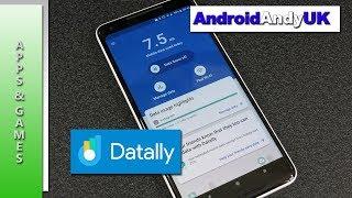 Google Mobile Data Control App - Datally