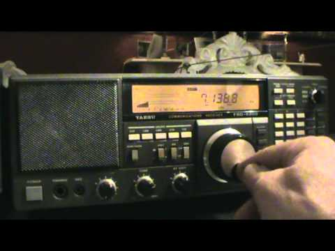 YAESU FRG-8800  20-40 and 80 meters amateurs and other stuff.