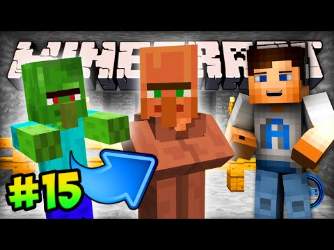 MINECRAFT (How To Minecraft) - w/ Ali-A #15 - ZOMBIE VILLAGER