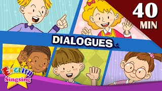 Good morning+More Kids Dialogues | Learn English for Kids | Collection of Easy Dialogue