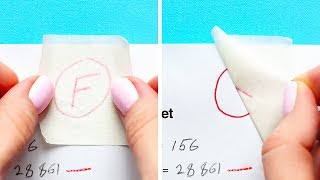 35 SCHOOL TRICKS YOU NEED IN REAL LIFE TOO