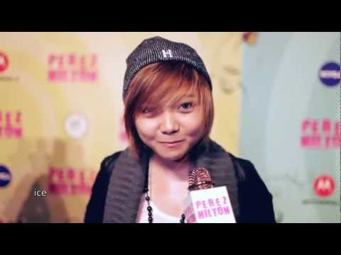 Charice Wishes Happy B-Day to Perez Hilton at his Mad Hatter...