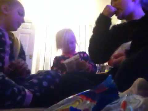 Sleepover with shantel and Katie xx