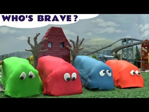 Thomas The Train Play Doh Egg Surprise Who Is Brave Playdough Toy Train Tale Of The Brave Film DVD