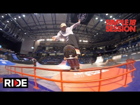 Alex Midler, Zion Wright & More -  Simple Session 2018 Finals & Best Trick