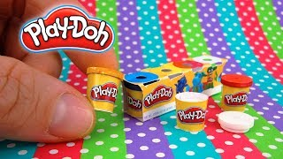 DIY Realistic Miniature Play-Doh Pack | DollHouse