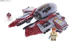 LEGO Star Wars 2016 Obi Wan's Jedi Interceptor review! 75135