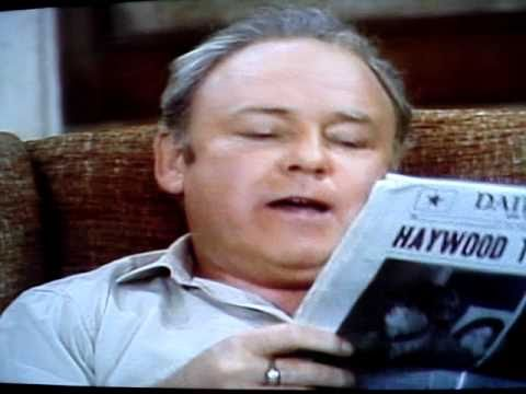 Archie Bunker on Puerto Ricans & Edith