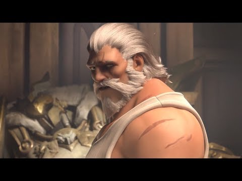 "Overwatch Reinhardt Animated Short ""Honor and Glory"""