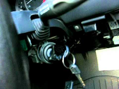 Commodore Vx2 Ignition Key Barrel Repair 5 Youtube