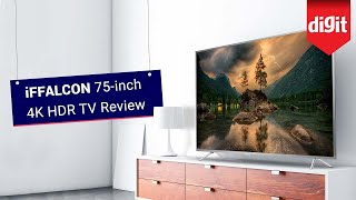 iFFalconn 75-inch 4K HDR TV Review | Digit.in