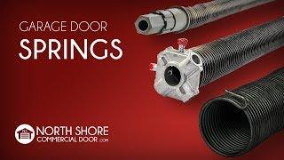 Garage Door Springs from North Shore Commercial Door