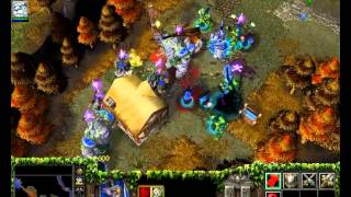 Warcraft 3 Frozen Throne - Night Elf Campaign Speedrun By Jury Rosenkilde Part 06