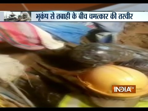Nepal Earthquake: Army Rescue Man Buried Under Quake Rubble - India TV