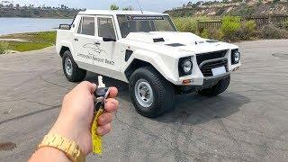 What It's Like To Drive A Lamborghini LM002 (POV)!