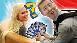 Picking Up Girls with Pokemon Cards