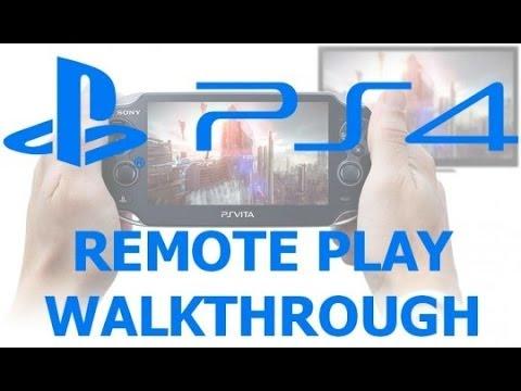 PS Vita - Remote Play Demo (PS4) - (Trenton to Camden NJ) 30 Miles - 720p HD