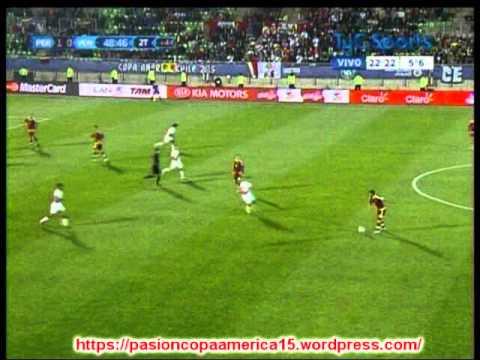 Peru 1 Venezuela 0 (Relato Juan Ramon Cid) Copa America 2015