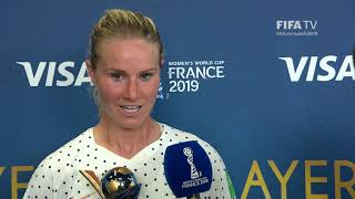 Amandine Henry – Player of the Match – France v Brazil