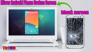 How to access your broken phone from pc ,Recover files from a broken Phone