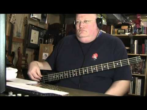 The Hollies Long Cool Woman In A Black Dress Bass Cover
