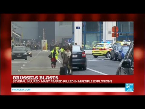 Brussels blasts: Another explosion target a metro station near EU headquarters