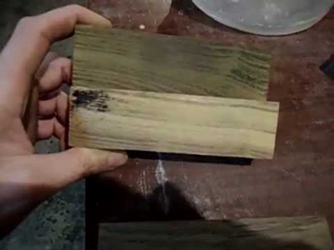 Как сделать мореный дуб в домашних условиях 269