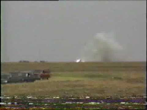 Big Rocket Explodes! 1/3 Scale Model Mercury-Redstone 3 Blows Up At Launch