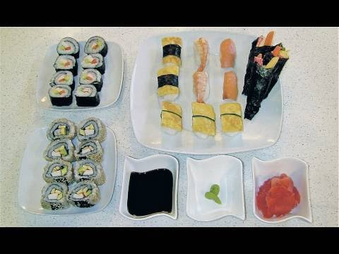 Cmo hacer sushi (todos los tipos, casero y fcil)