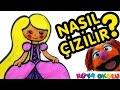 Rapunzel Nasıl Çizilir? - Prenses 2 - Resim Çizme - RÜYA OKULU