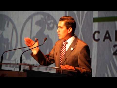 Presenta Carlos Peña su Primer Informe de Gobierno