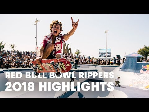 Red Bull Bowl Rippers 2018 Skate Highlights