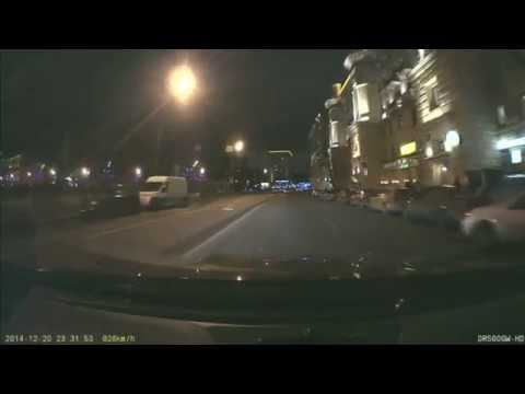 Street Racer Crashes into Car